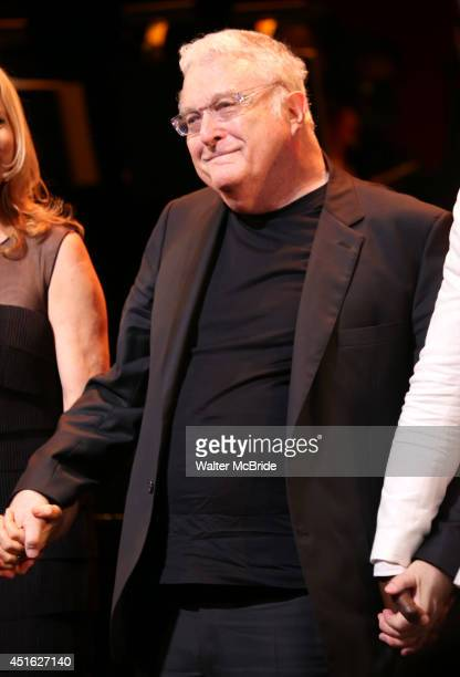 Randy Newman during the curtain call for the New York City Center Encores OffCenter production of 'Randy Newman's FAUST The Concert' at City Center...