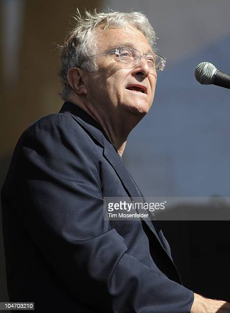 Randy Newman performs as part of Hardly Strictly Bluegrass 10 in Golden Gate Park on October 3 2010 in San Francisco California