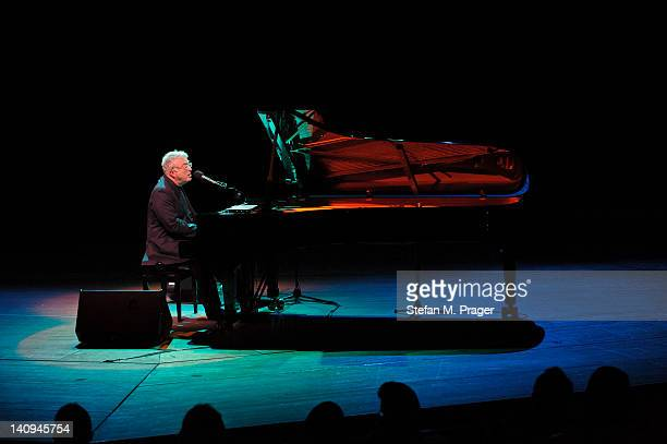 Randy Newman performs on stage at Philharmonie on March 8 2012 in Munich Germany