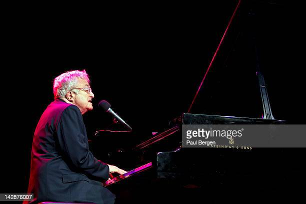 Randy Newman performs on stage in Vredenburg Leidsche Rijn Utrecht Netherlands 10th March 2012