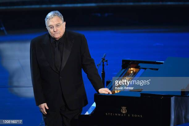 Randy Newman performs onstage during the 92nd Annual Academy Awards at Dolby Theatre on February 09 2020 in Hollywood California