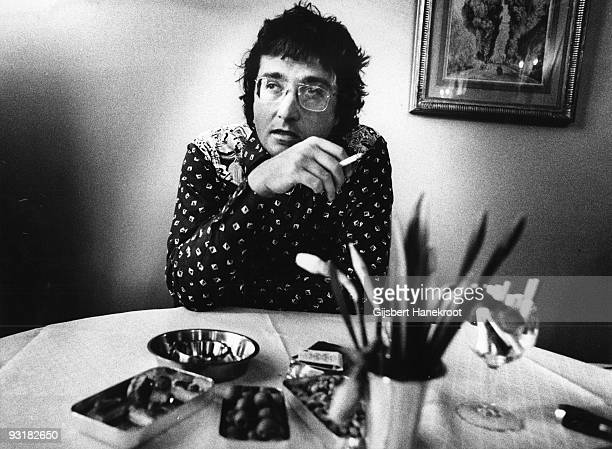 Randy Newman posed in Amsterdam Netherlands in 1975