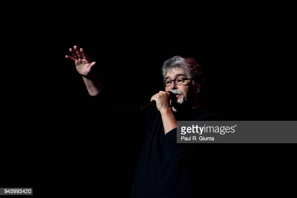 Randy Owen of Alabama performs on stage at The Fox Theatre on April 13 2018 in Atlanta Georgia