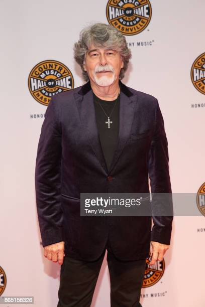 Randy Owen of musical group Alabama attends Medallion Ceremony to celebrate 2017 hall of fame inductees Alan Jackson Jerry Reed And Don Schlitz at...