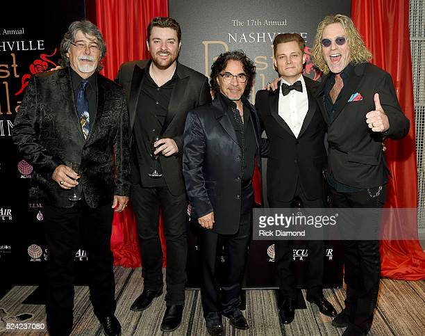 Randy Owen of the band Alabama singersongwriter Chris Young John Oates of Hall Oates singersongwriter Frankie Ballard and Big Kenny of Big Rich...