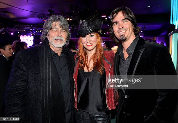 Randy Owens of Alabama Hilary Williams and Heath Williams attend the 61st annual BMI Country Awards on November 5 2013 in Nashville Tennessee
