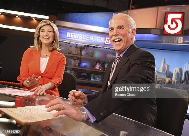 Randy Price has joined WCVB Channel Five He rehearses and works behind the scenes with coanchor Bianca de la Garza before his upcoming first newscast