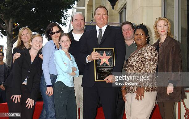 Randy Quaid and cast members of The Brotherhood of Poland NH at the Hollywood Walk of Fame