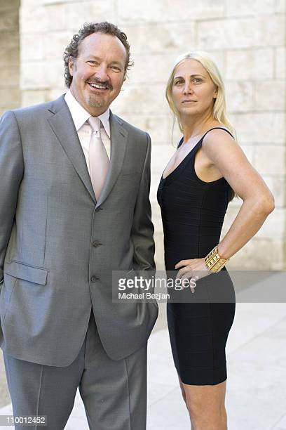 Randy Quaid and Evi Quaid during Photo Session with Randy Quaid Screening of Goya's Ghost at Getty Center in Los Angeles California United States