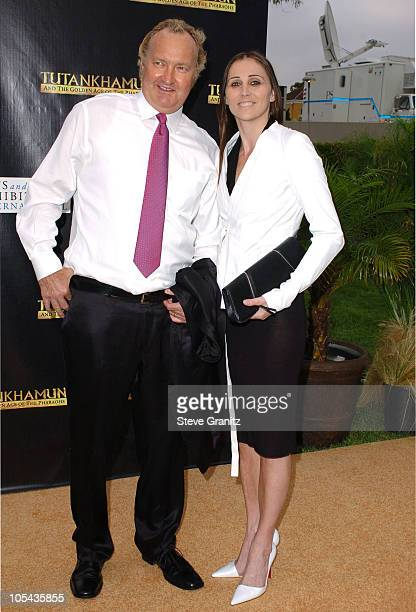 Randy Quaid and Evi Quaid during Tutankhamun and the Golden Age of the Pharaohs Opening Night Party at LACMA in Los Angeles California United States
