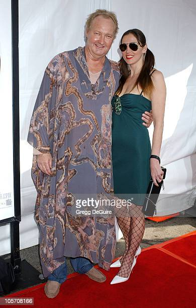 Randy Quaid and wife Evi during MonsterInLaw Los Angeles Premiere Arrivals at Mann National Theatre in Westwood California United States