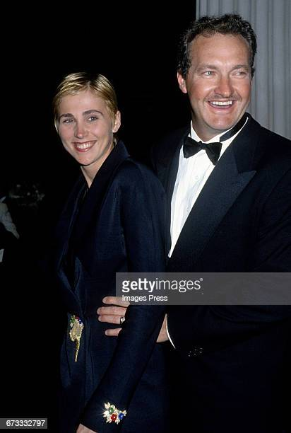 Randy Quaid and wife Evi Quaid attend the 1992 Metropolitan Museum of Art's Costume Institute Gala in New York City