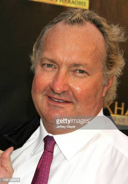 Randy Quaid during Tutankhamun and the Golden Age of the Pharaohs Opening Night Party at LACMA in Los Angeles California United States
