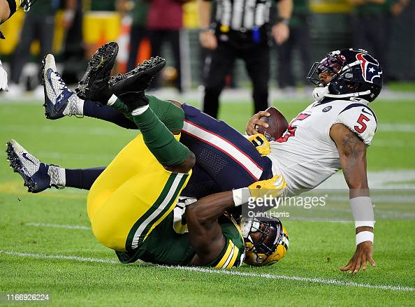 Randy Ramsey Of The Green Bay Packers Sacks Joe Webb Iii Of The News Photo Getty Images