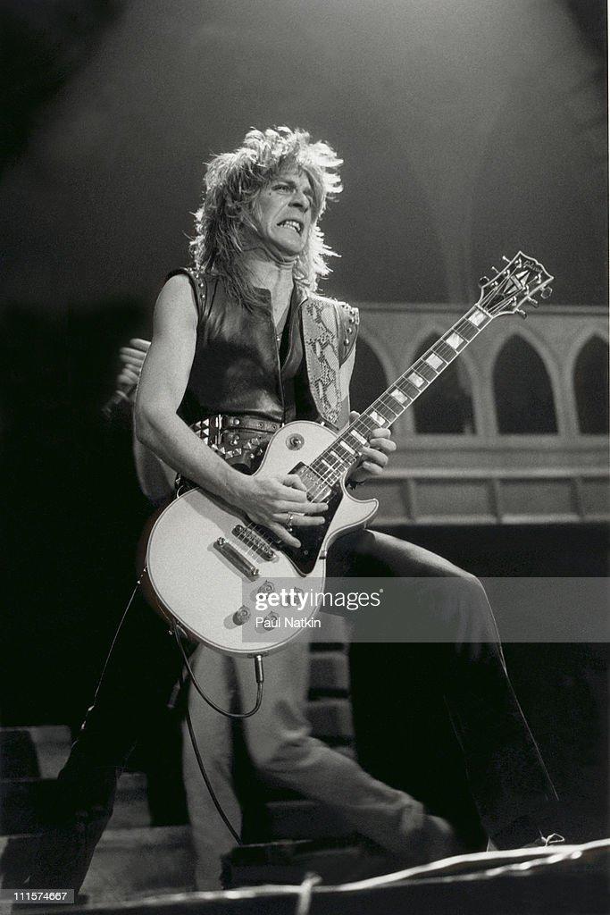 Randy Rhoads on 1/24/82 in Chicago, Il.