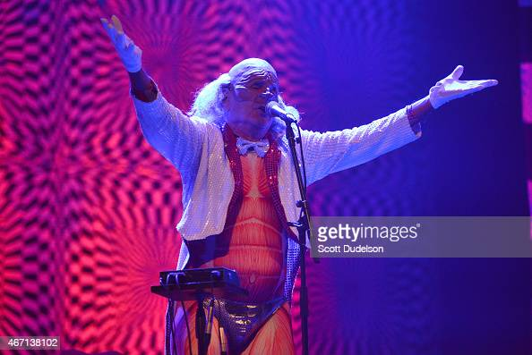 Randy Rose of avant-garde rock band The Residents performs ...