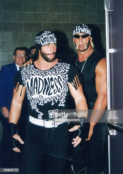 Randy Savage and Hulk Hogan in Atlanta Georgia circa 1998