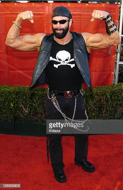 Randy Savage during 31st Annual American Music Awards Arrivals at Shrine Auditorium in Los Angeles California United States