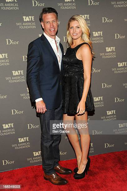 Randy Scott and Lindsey Scott attend the Tate Americas Foundation Artists Dinner at Skylight at Moynihan Station on May 8 2013 in New York City