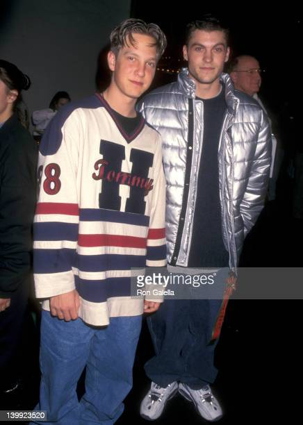 Randy Spelling and Brian Austin Green at the 65th Annual Hollywood Christmas Parade, Hollywood.