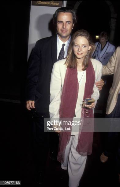 Randy Stone and Jodie Foster during Party for 'Richard III' at UCLA's Royce Hall in Westwood California United States