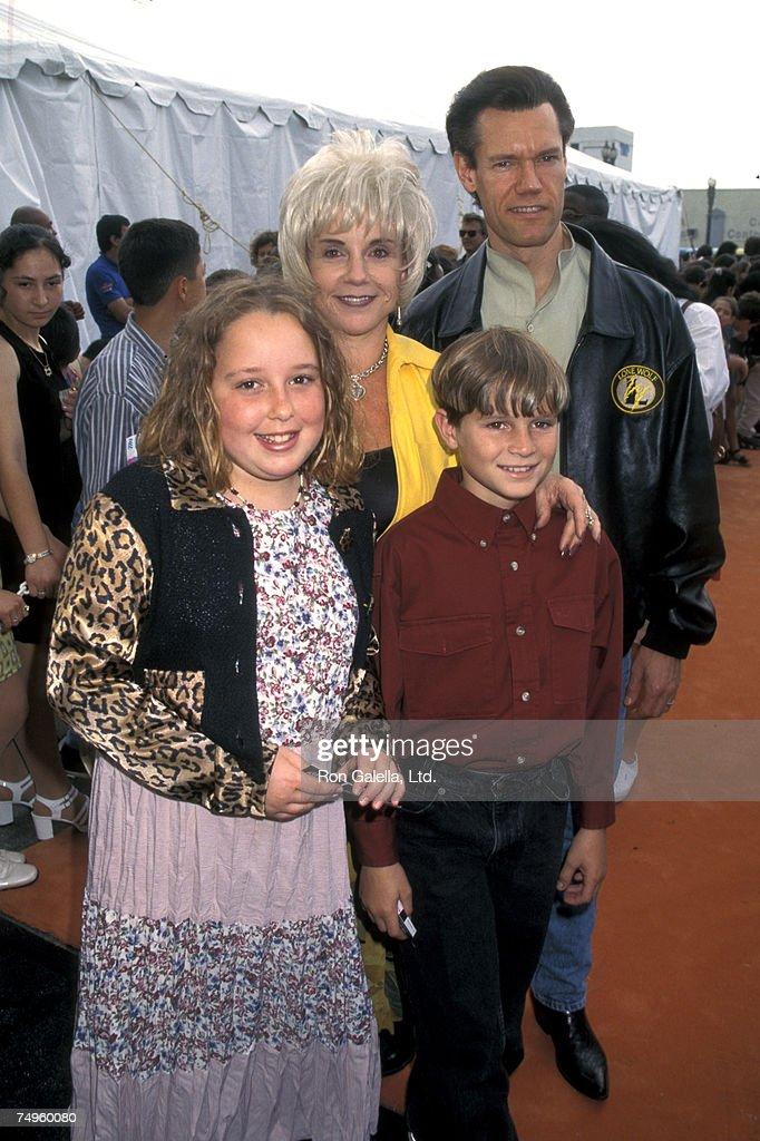 Randy Travis, Libby Hatcher and kids