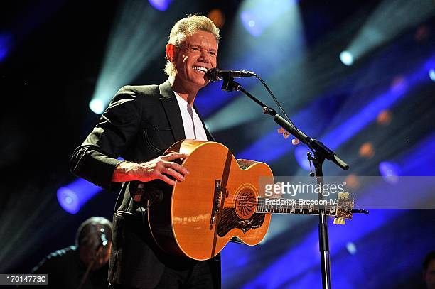 Randy Travis performs at LP Field during the 2013 CMA Music Festival on June 7 2013 in Nashville Tennessee