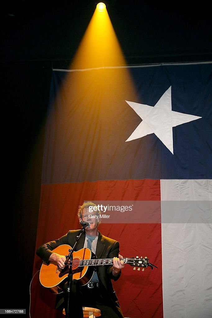 Randy Travis performs in concert during the Mack, Jack & McConaughey charity event at ACL Live on April 12, 2013 in Austin, Texas.