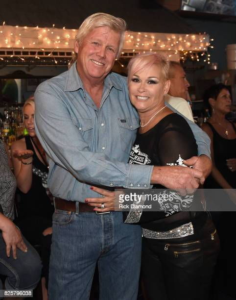 Randy White and Singer/Songwriter Lorrie Morgan during An Intimate Night With The Morgans Lorrie Morgan Marty Morgan And Guests at Bluebird Cafe on...