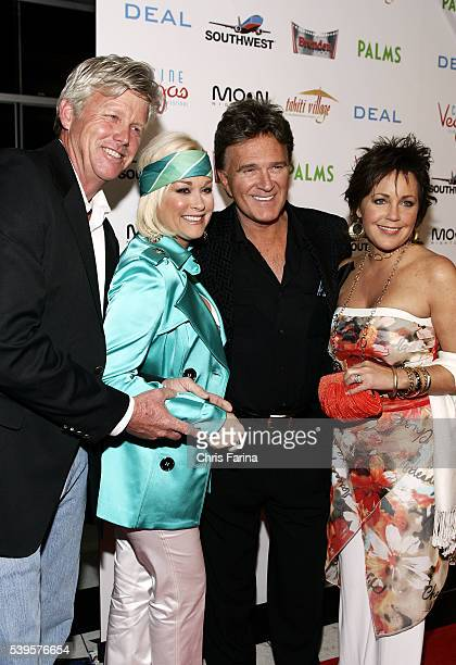 Randy White country music singers Lorrie Morgan TG Sheppard and Kelly Lang attend the world premiere of Deal at the Palms Casino Resort in Las Vegas