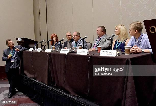 Randy Wright of Integrity Events Kathie Spehar of Cannery Casino Mike Moloney of Mike Moloney Entertainment LLC Adam Kornfeld of AGI George Jenkot of...