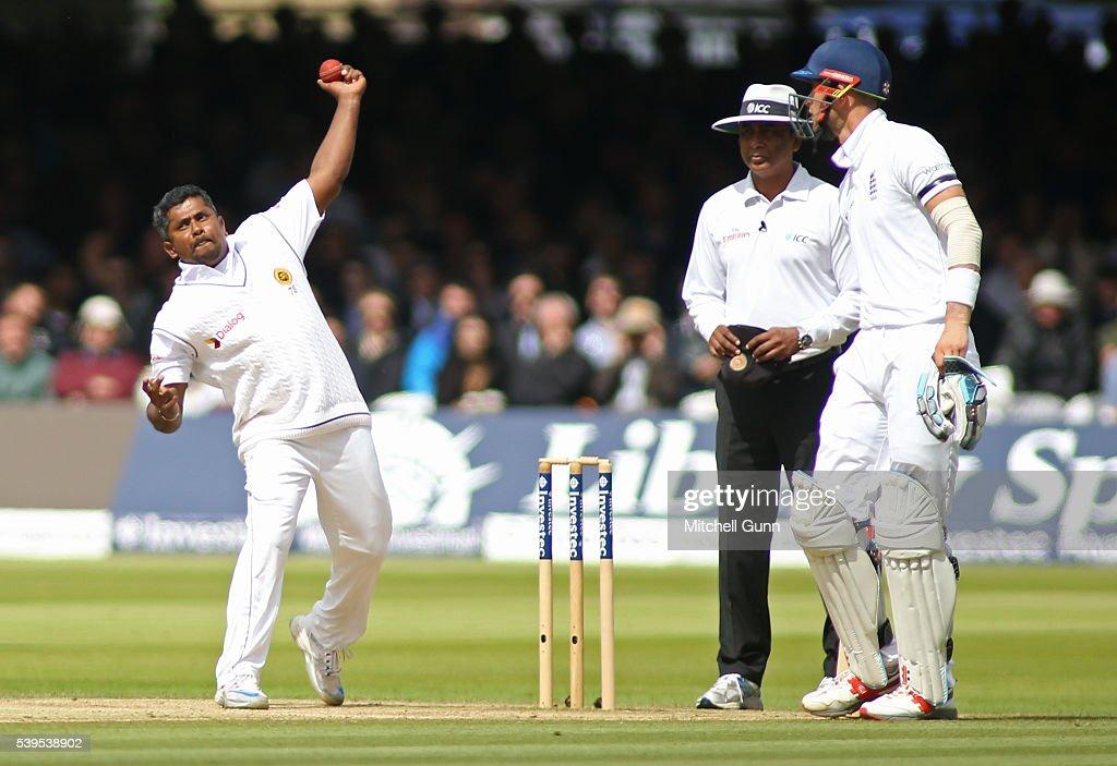 England v Sri Lanka: 3rd Investec Test - Day Four : News Photo