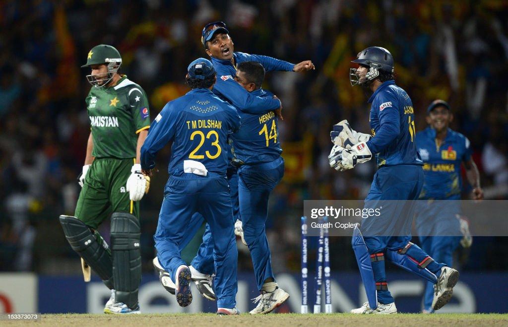 Sri Lanka v Pakistan - ICC World Twenty20 2012 Semi Final