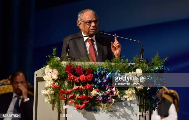 C Rangarajan former Governor of RBI during the inauguration of academic session of Bengaluru Dr B R Ambedkar School of Economics on October 4 2017 in...