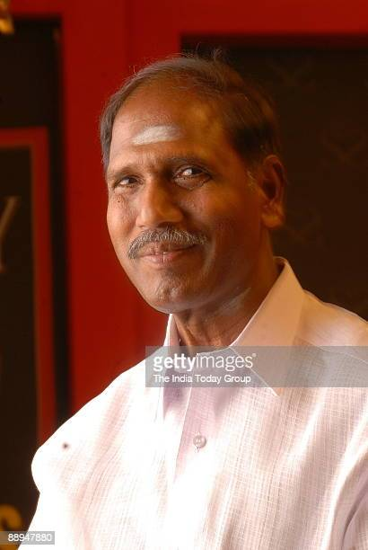 Rangaswamy Chief Minister of Pondicherry at India Today State of States Conclave in New Delhi India on dated 14 september 2007