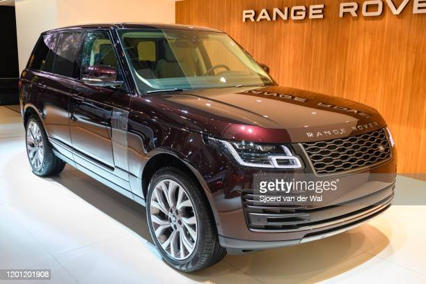 Range Rover D275 Vogue luxury full size SUV on display at Brussels Expo on January 9 2020 in Brussels Belgium The Range Rover is available with...