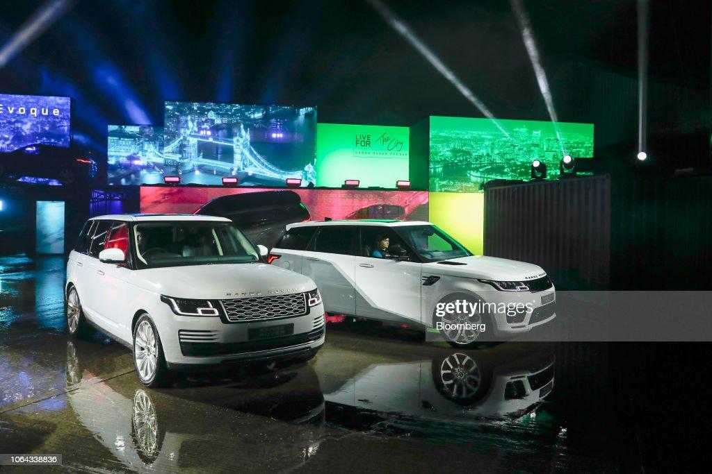 Jaguar Land Rover Launches New Evoque Su News Photo