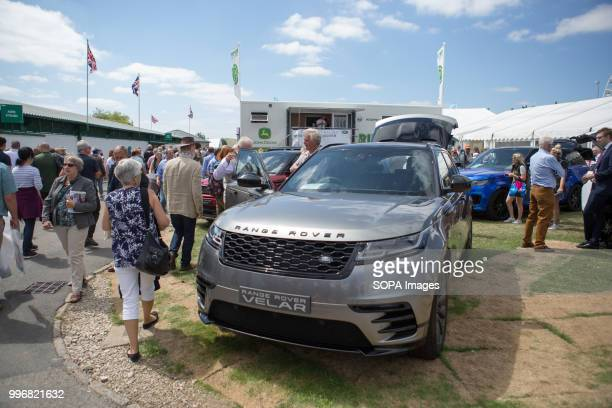 Range Rover Exhibition seen during the Great Yorkshire Show 2018 on day one The Great Yorkshire Show is the biggest 3 days agricultural event in...