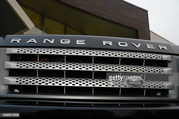 range rover grille - range rover stock pictures, royalty-free photos & images