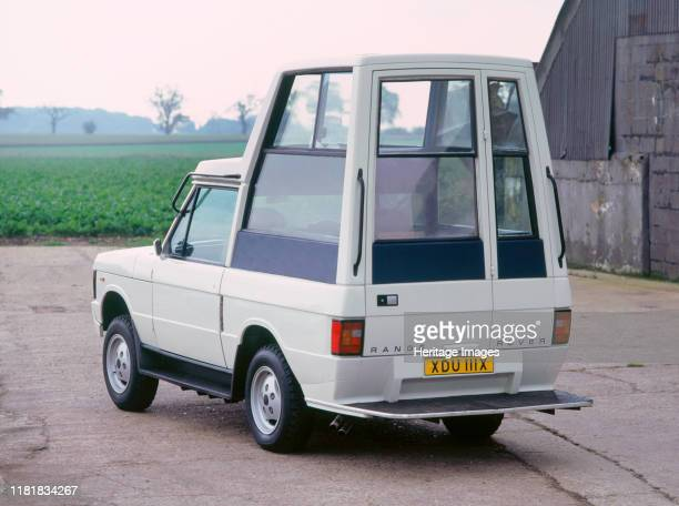 Range Rover Pope Mobile 1986. Creator: Unknown.