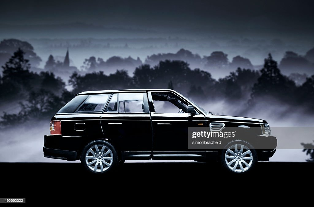 Range Rover Sport Model Car Low Key Stock Photo Getty Images