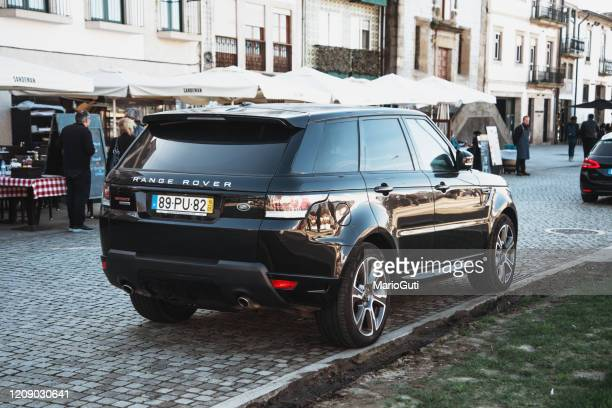 range rover sport - land rover stock pictures, royalty-free photos & images