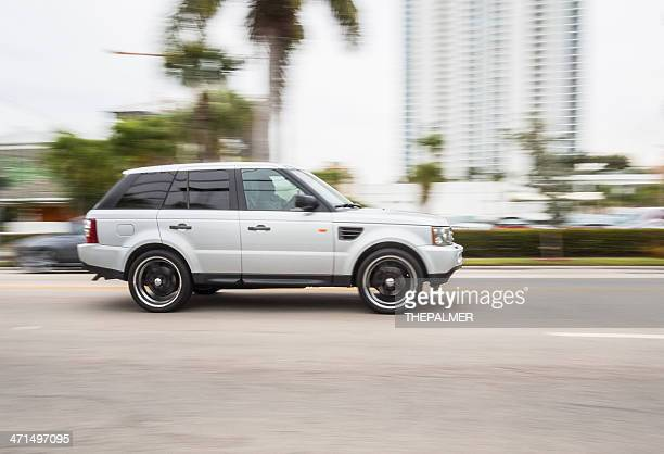 range rover sport suv - land rover stock pictures, royalty-free photos & images