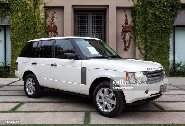 ranger rover 2008 - land rover stock pictures, royalty-free photos & images