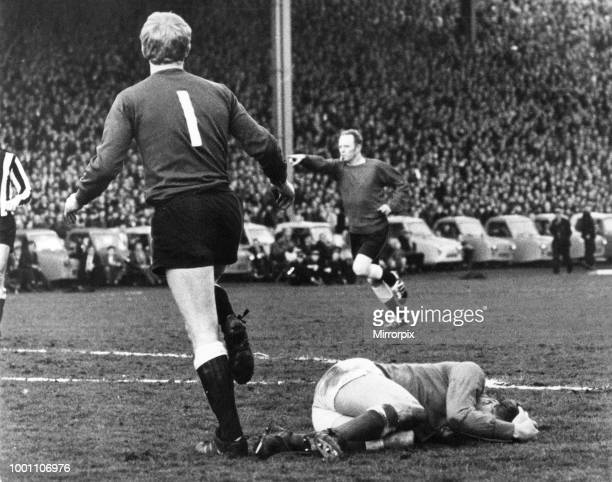 Rangers 0-0 Newcastle United, Inter-Cities Fairs Cup Semi Final, 1st Leg, football match at Ibrox Stadium, Wednesday 14th May 1969, our picture shows...