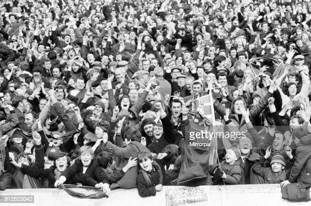 Rangers 10 Aberdeen Scottish FA Cup match Ibrox Glasgow Scotland 6th March 1971 Face of Britain 1971 Feature