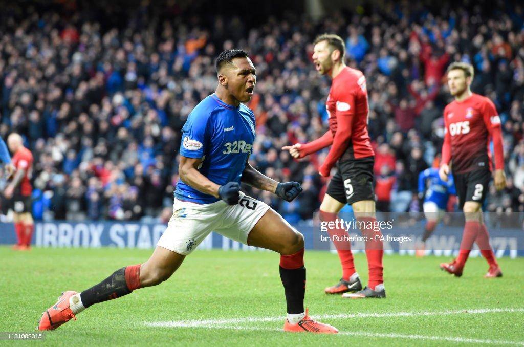 Rangers v Kilmarnock - Ladbrokes Scottish Premiership - Ibrox Stadium : News Photo