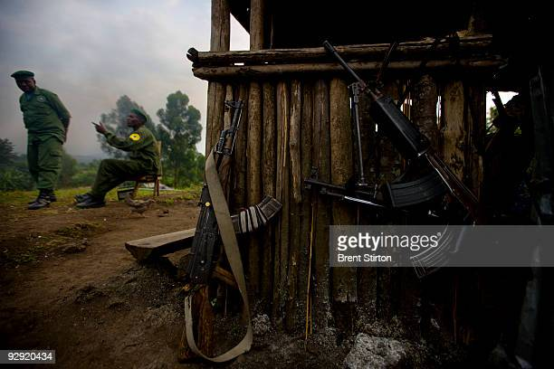 ICCN rangers at the Kibati Station conduct roadblocks and vehicle searches for illegal charcoal in Virunga National Park Their job is complicated by...