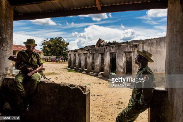 Rangers at Virunga National Park's Rwindi basecamp see regular fighting with rebel groups in the area December 2015