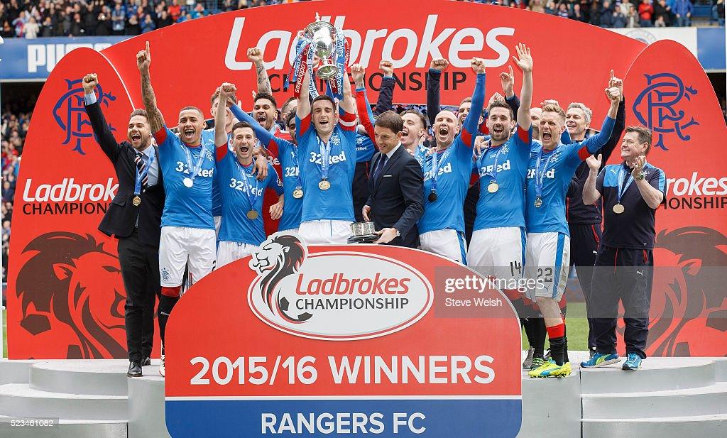 Rangers v Alloa Athletic Scottish Championship : News Photo